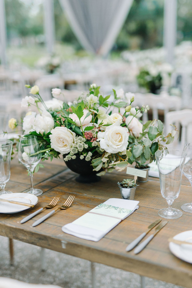 Grey and Ivory Wedding at Lowndes Grove - Inspired by This