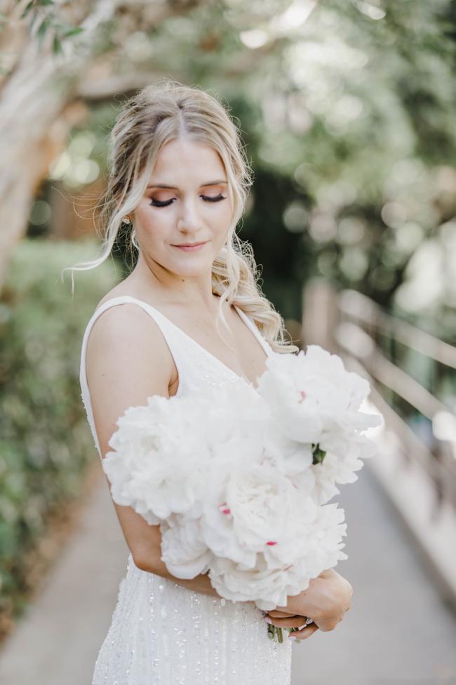 pink modern weddings