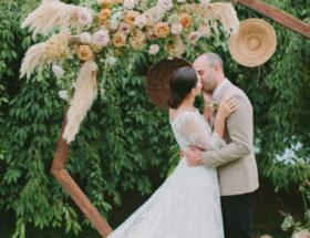 Sophisticated Terra-Cotta Inspired Farm Wedding
