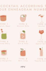 enneagram cocktails