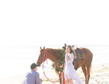 Horseback Riding Turned Surprise Sunset Proposal - Inspired by This