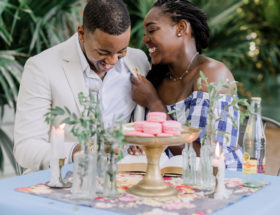 Cheerful Havana Inspired Engagement Photos - Inspired By This