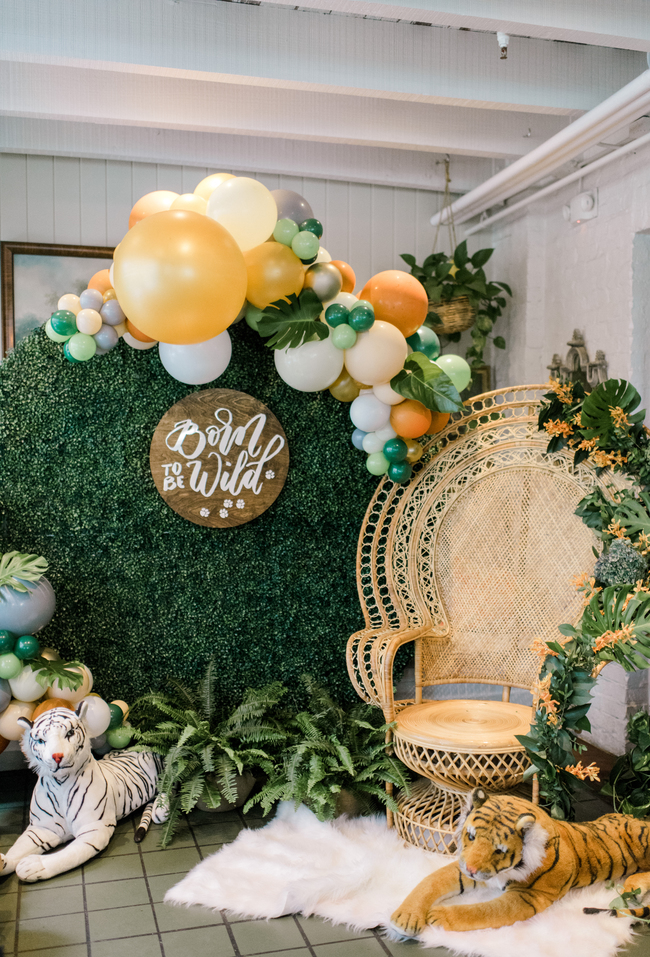 Born to be Wild Baby Shower - Inspired by This