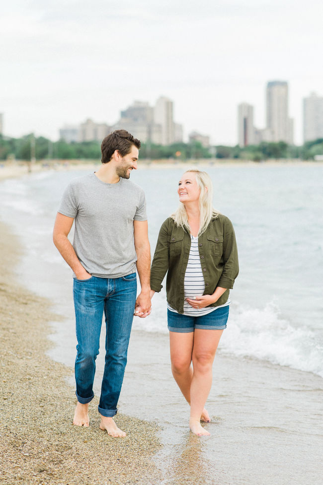 Lakeside Maternity Shoot at Sunrise - Inspired by This
