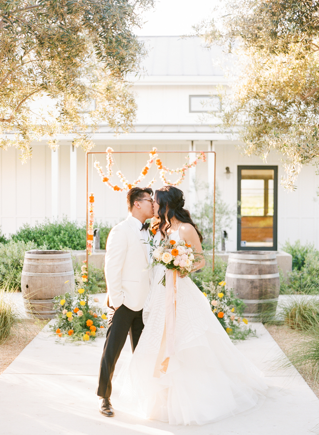A pop of Marigold wedding inspiration - Inspired by This