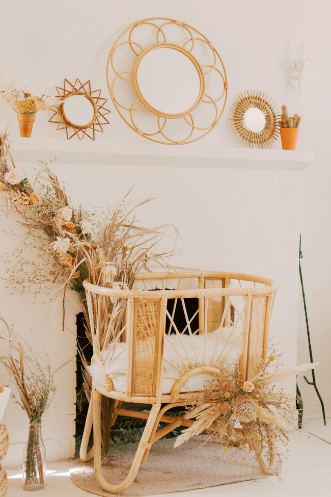 Chic Golden Tones Baby Shower in California - Inspired by This