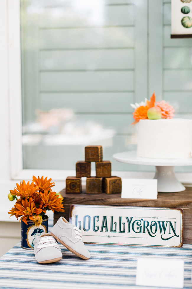 Locally Grown Inspired Baby Shower - Inspired by This